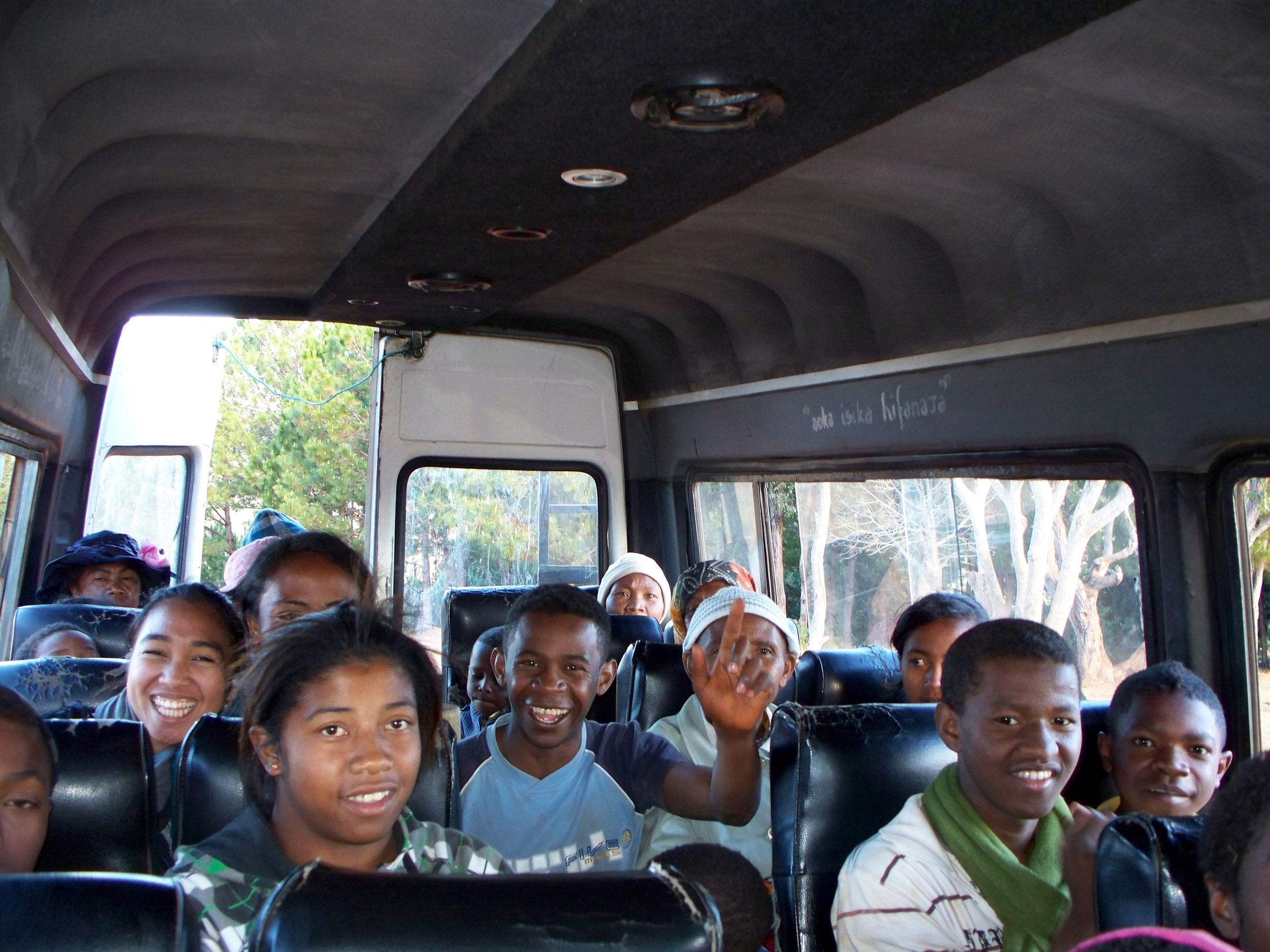 A trip to the countryside with a humanitarian organization in Antananarivo