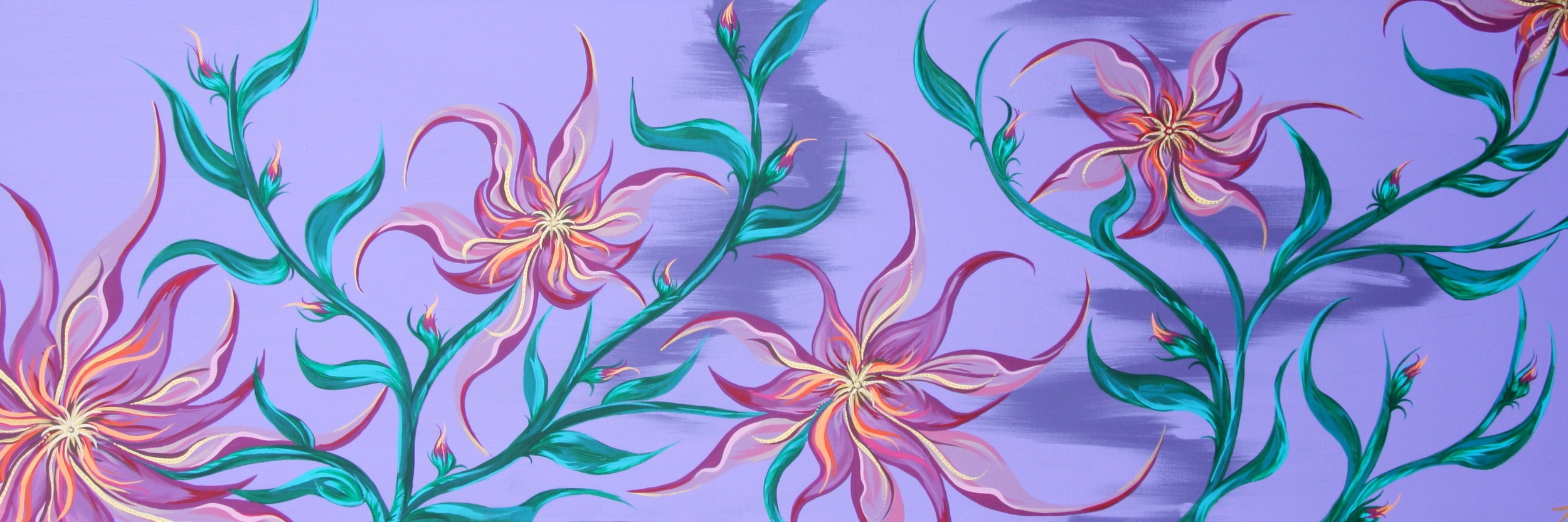 Just Flowers Painting