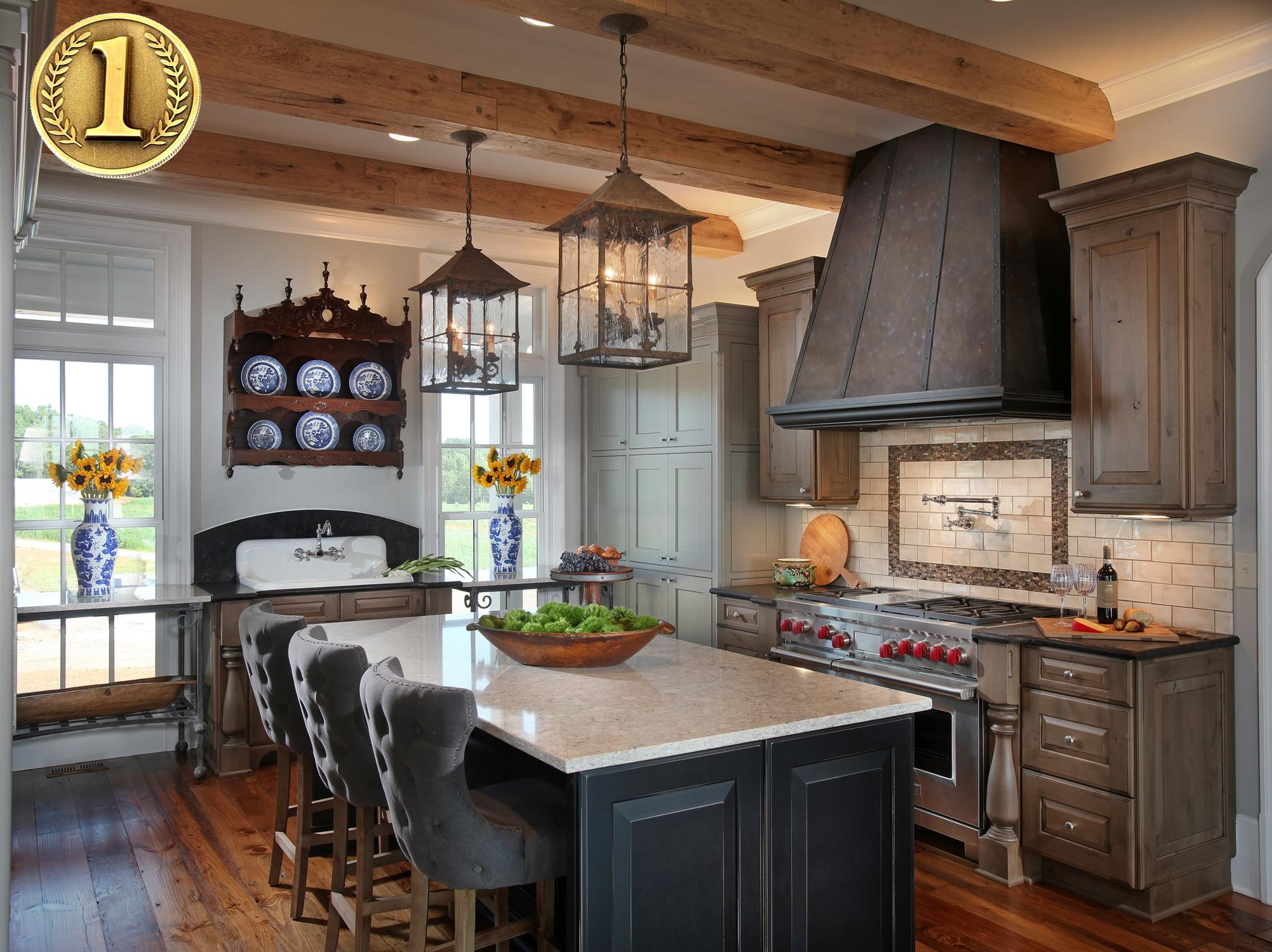 Awarded 1st Place in Traditional Kitchens - 18th Annual Design Awards