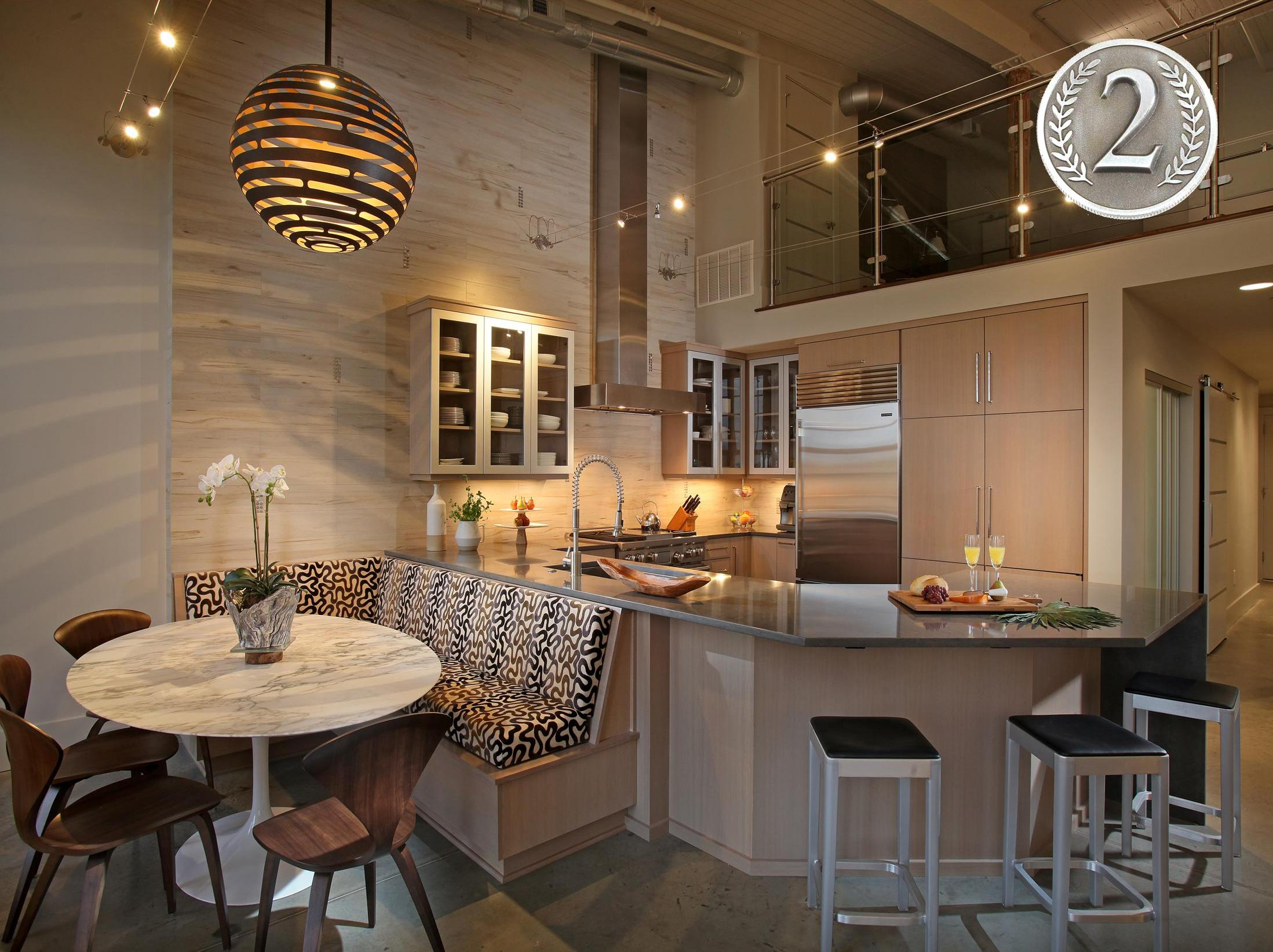 Awarded 2nd Place in Contemporary Kitchens -18th Annual Design Awards