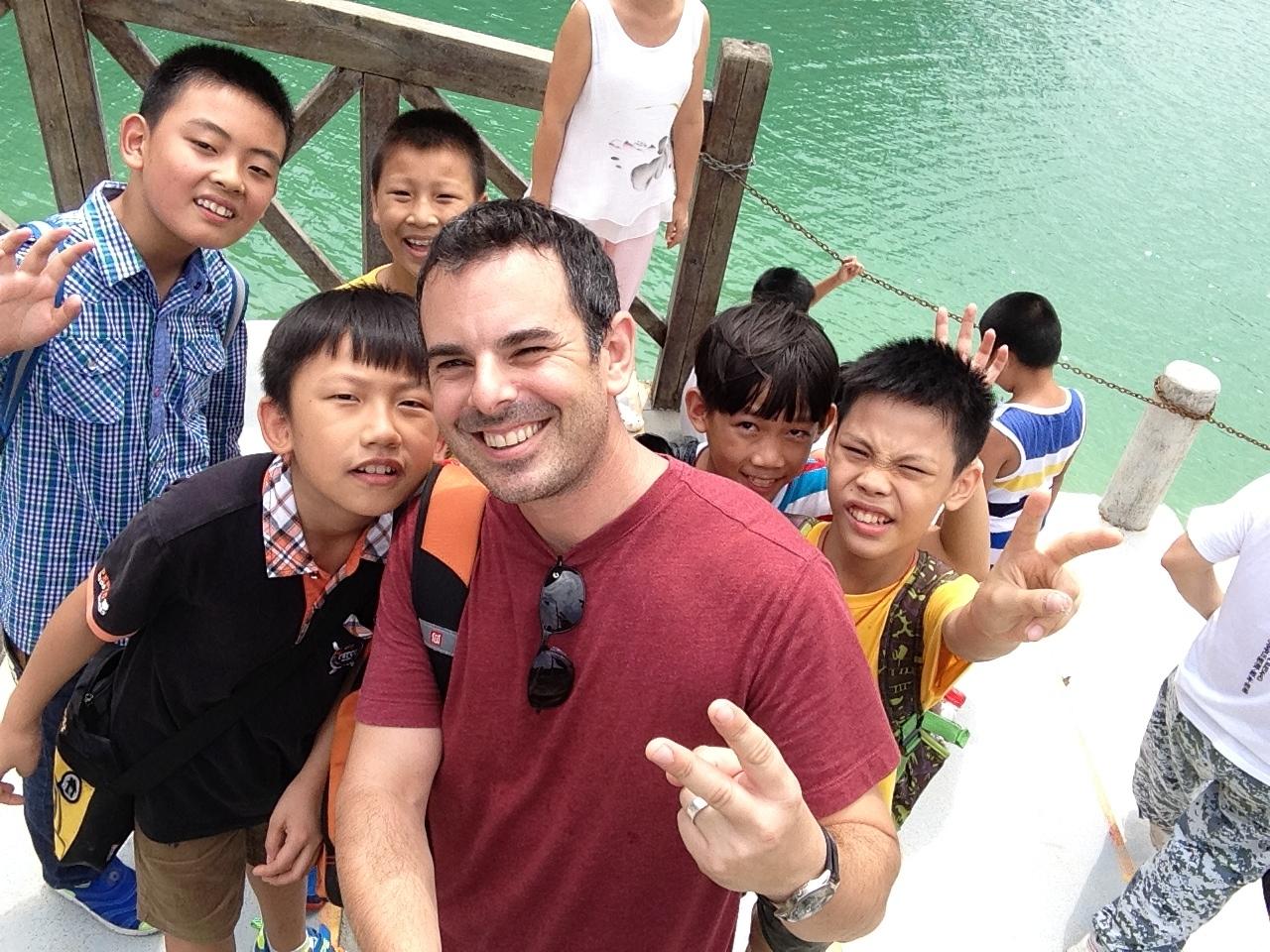 Teacher training,  Shenzhen, China