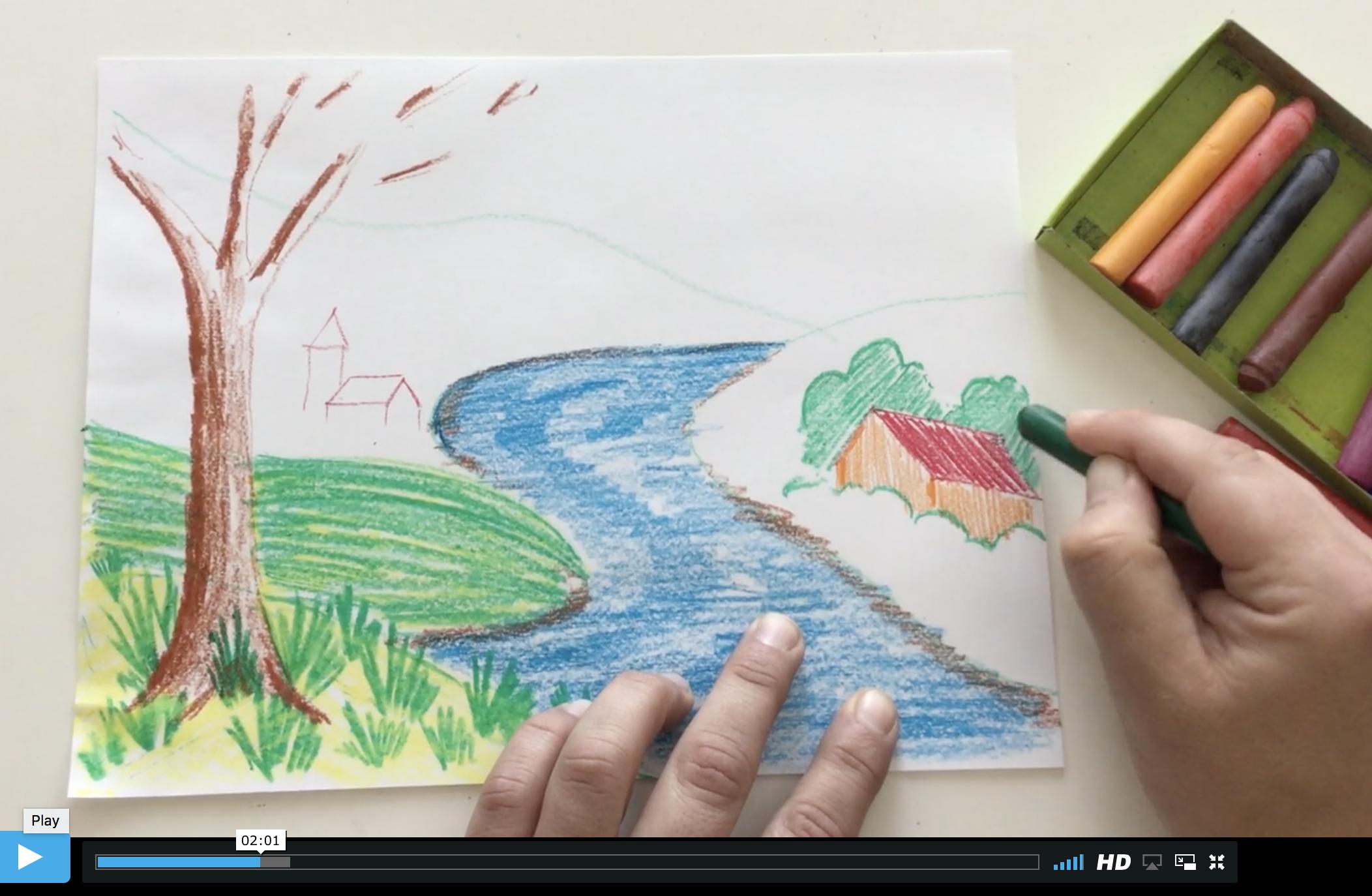 Waldorf art curriculum