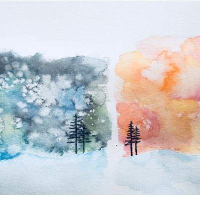 Lesson Twenty-five: Watercolor pencils and crayons