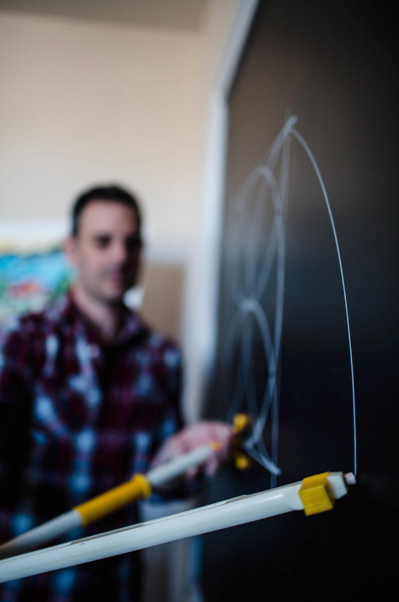 Chalkboard compass, Waldorf Geometry