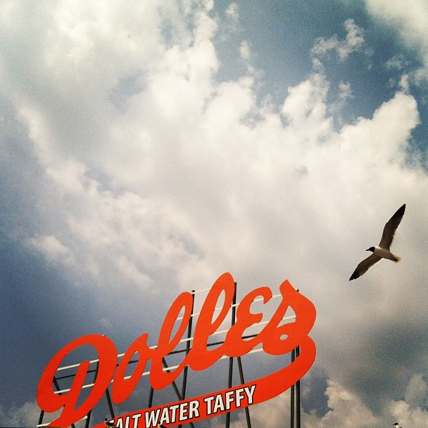 Dolle's Taffy in Rehobeth Beach, Delaware
