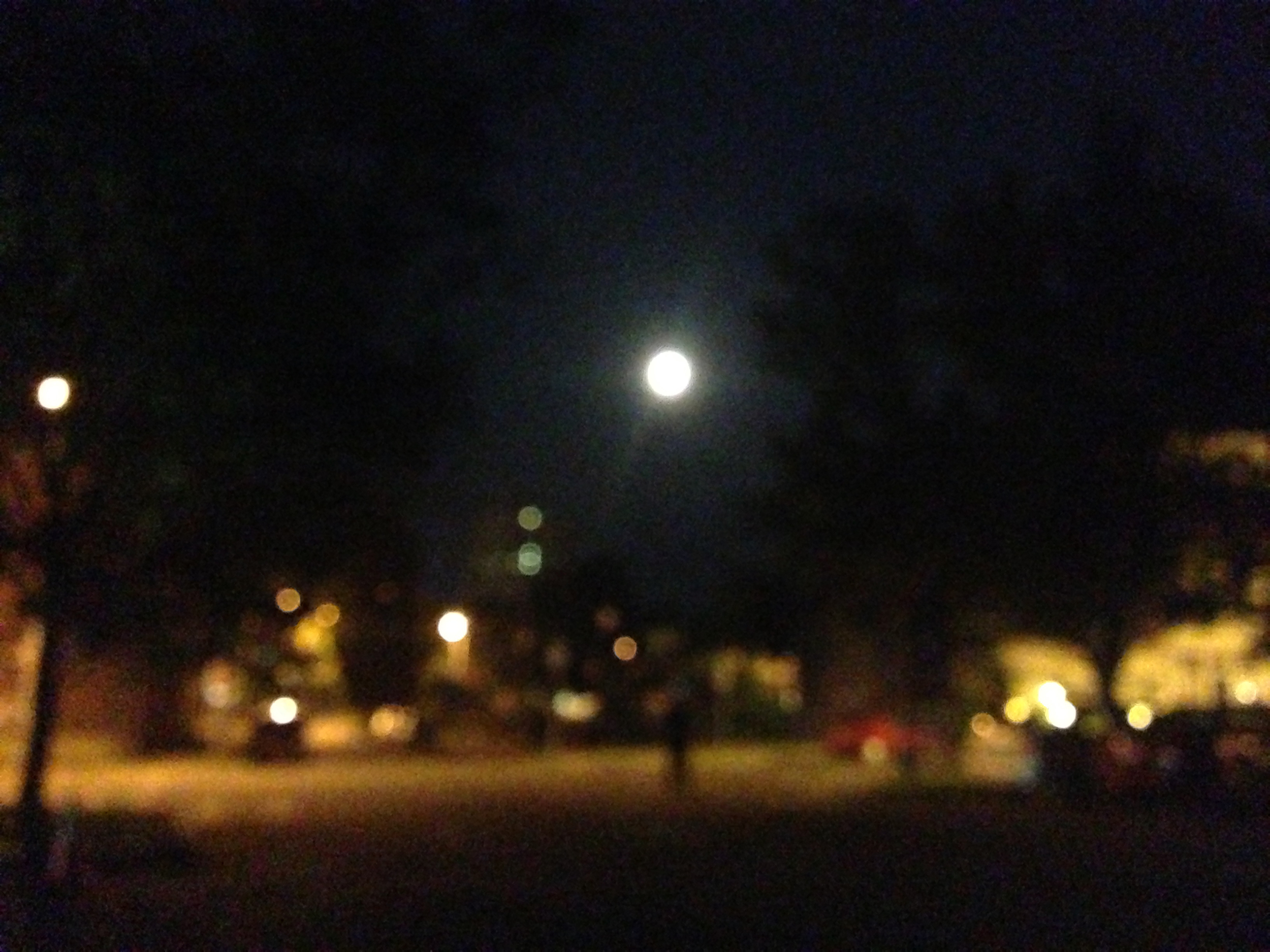 You cannot ignore the Super Moon.