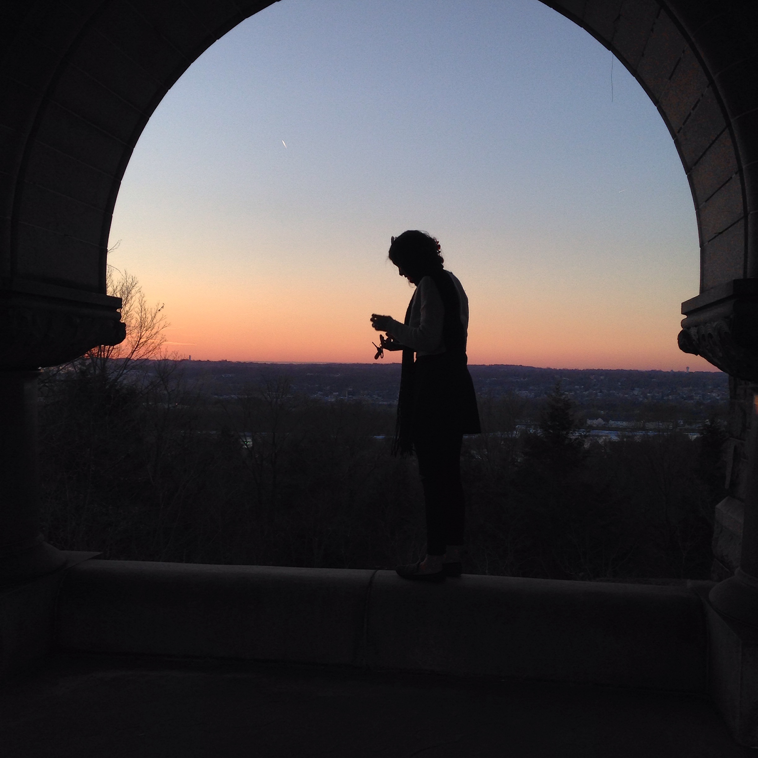 My favorite place for silhouettes.
