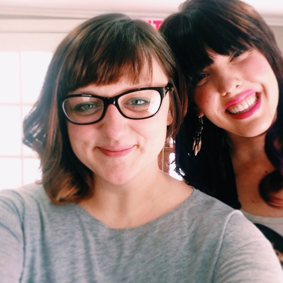 New Asymmetrical haircut by Katie Fox.
