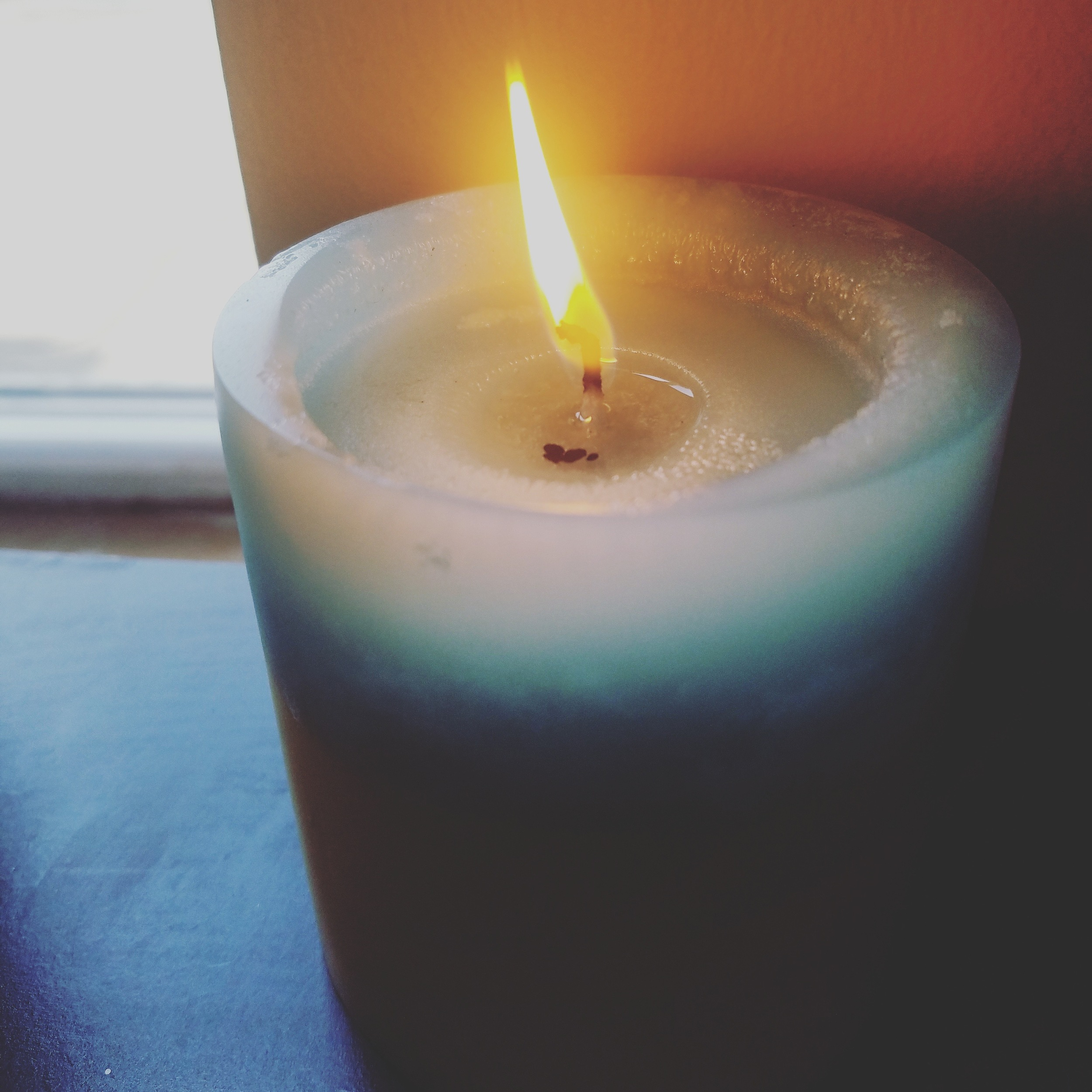 i am going to do my best work as this candle burns.
