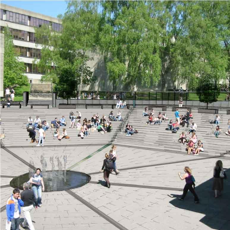 THE SQUARE, UEA   Education