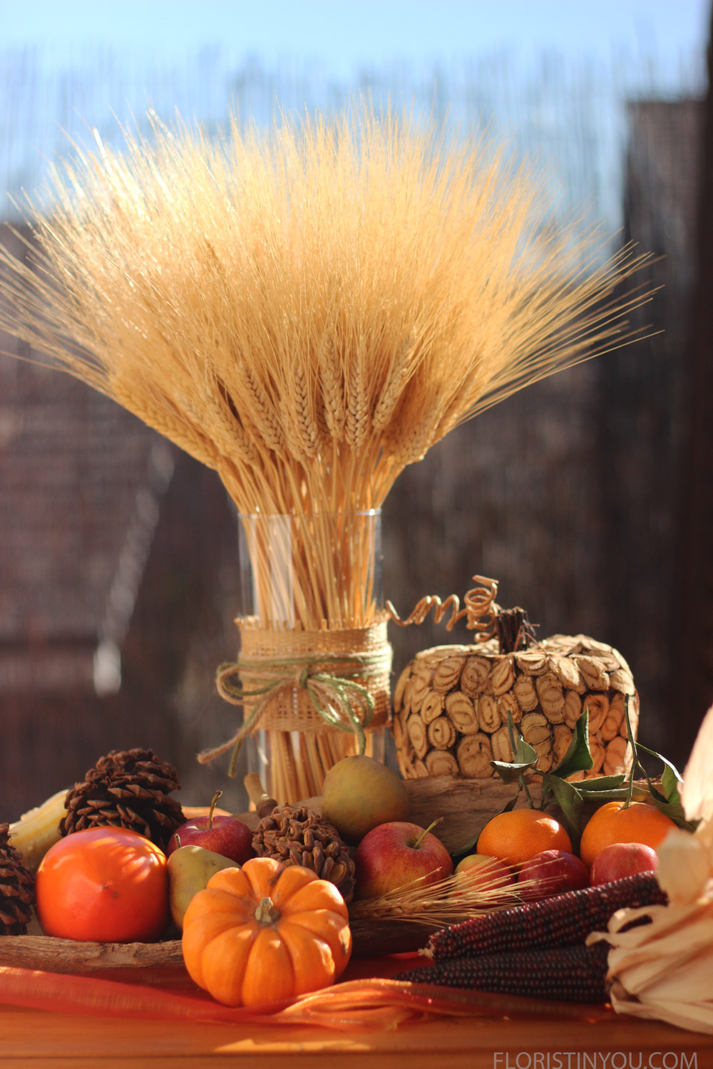 Harvest Wheat and Fruit