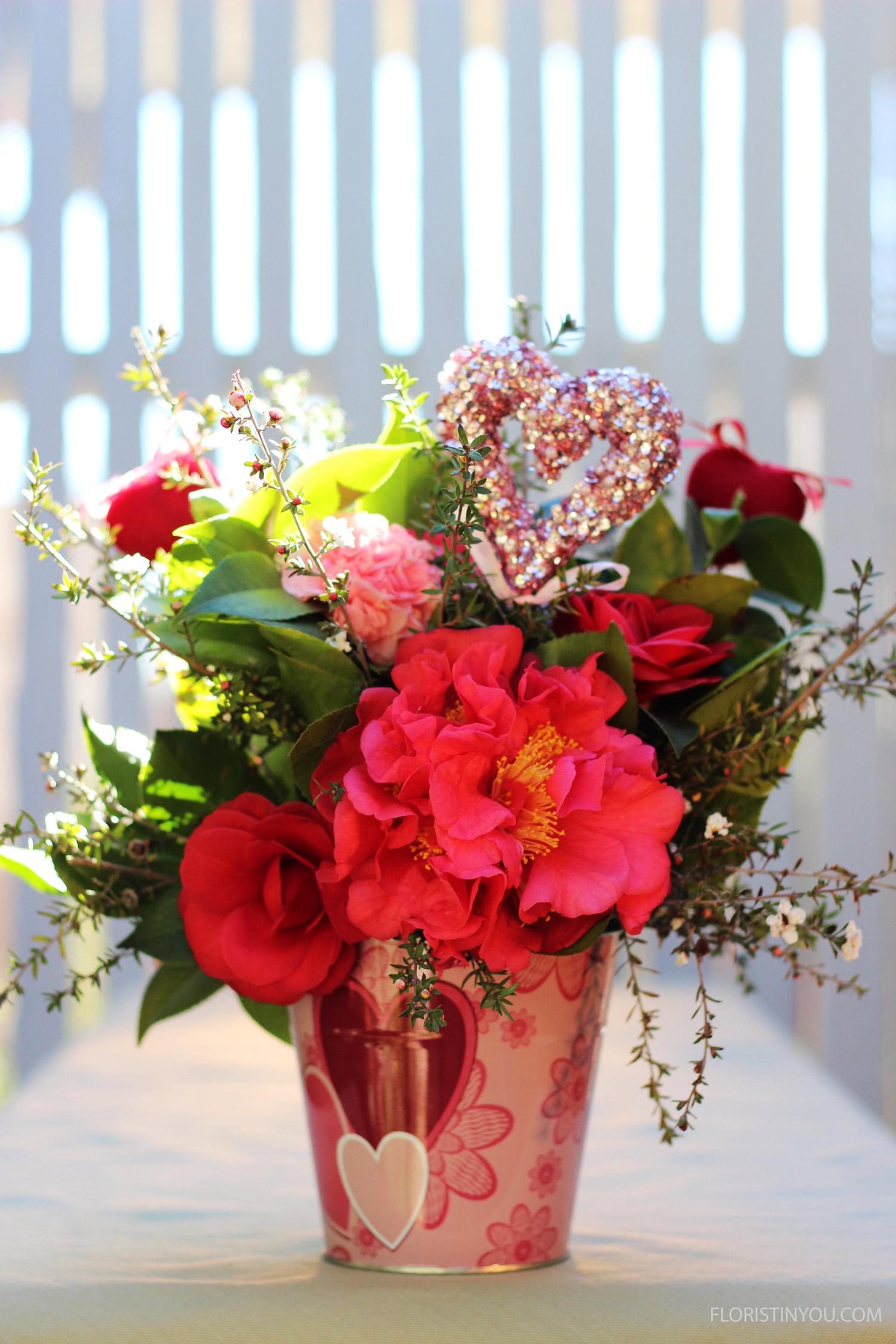 Valentine's Day Camellias