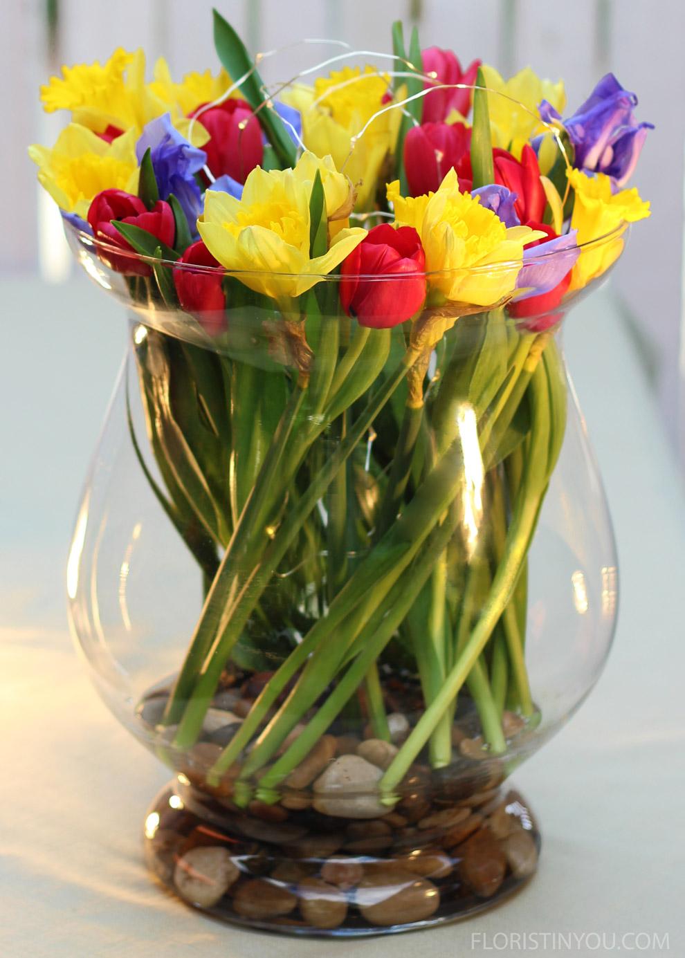Tulip Swirl and Lights