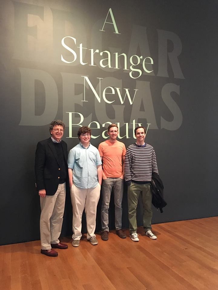 This is the MOMA Degas exbibit. Here we are guys