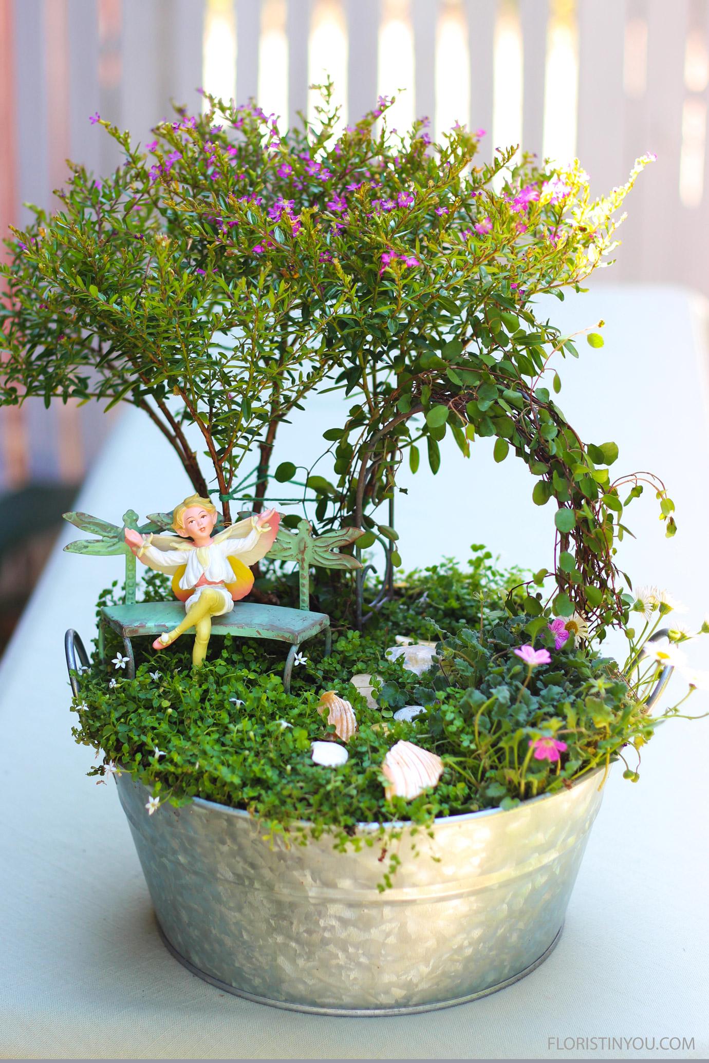 How to Make a Fairie Garden