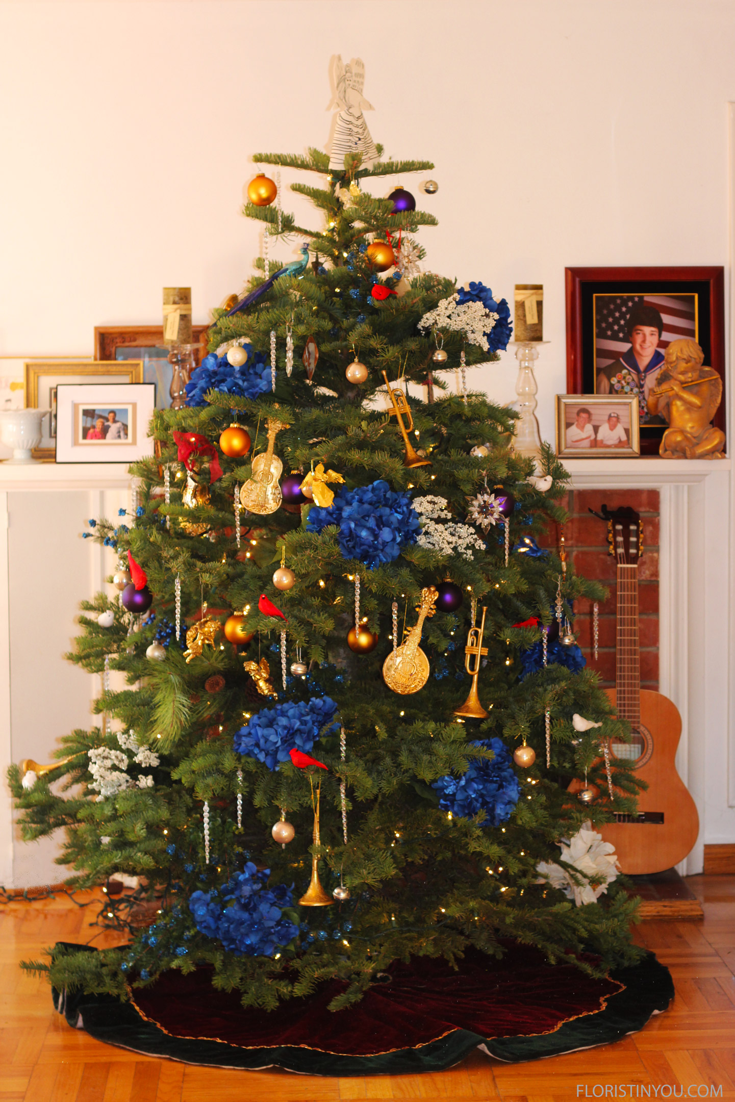 Your tree will be ready for Santa. Enjoy!