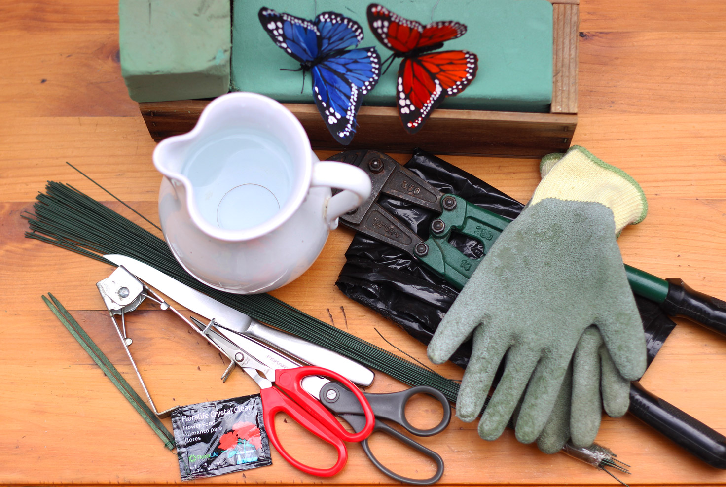 Here are the supplies and tools you will use.