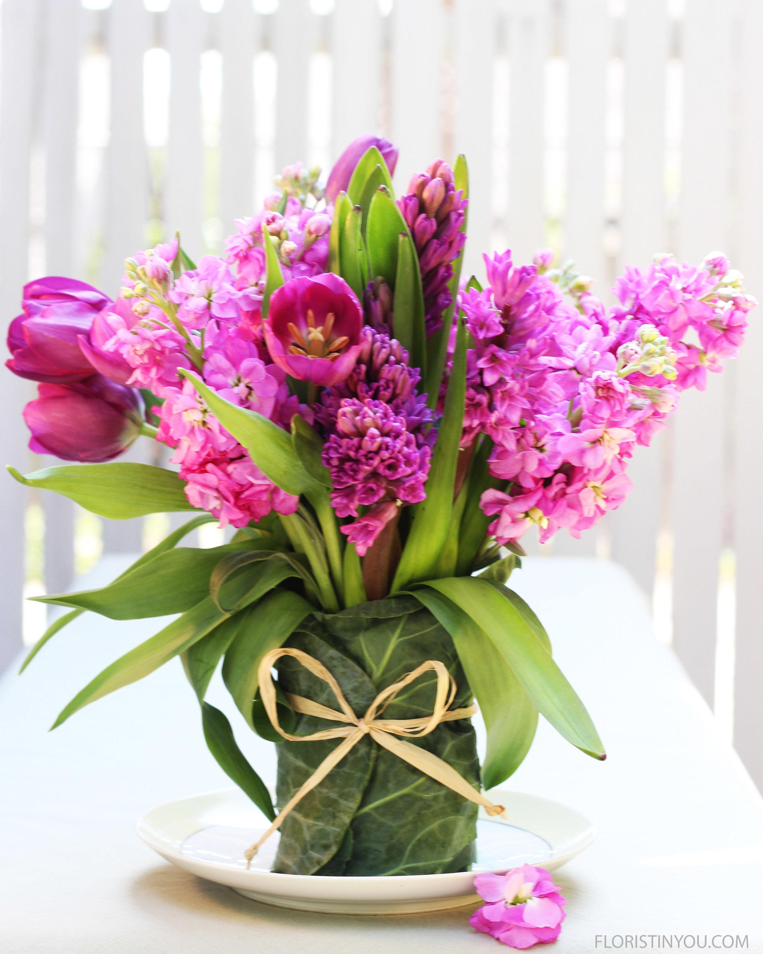 Hyacinth Tulips & Stock