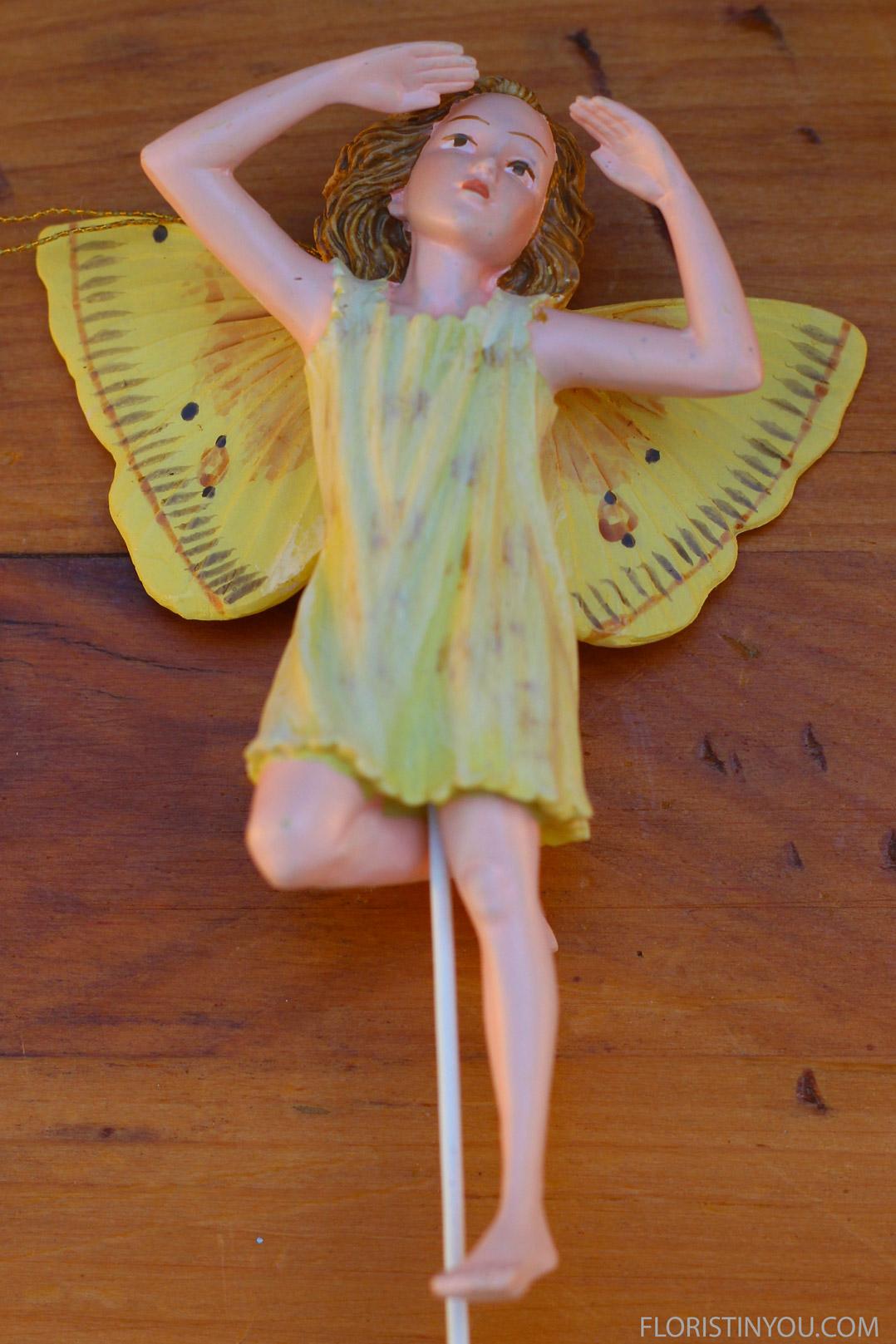 Put fairy on stand.