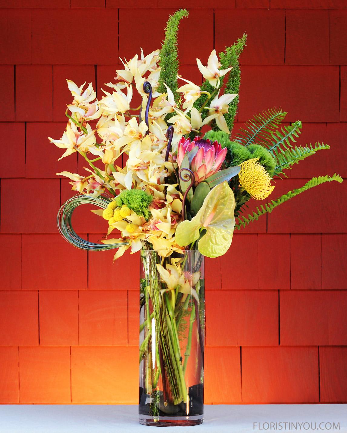 X-LG Orchid Arrangement