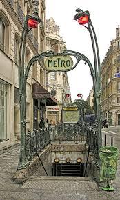 Paris Subway Entrance