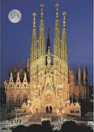 Gaudi's Sagrada Família, Barcelona