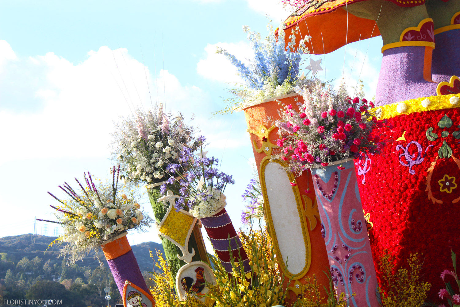 Taiwan…the flowers, colors and costumes and face painting were amazing.