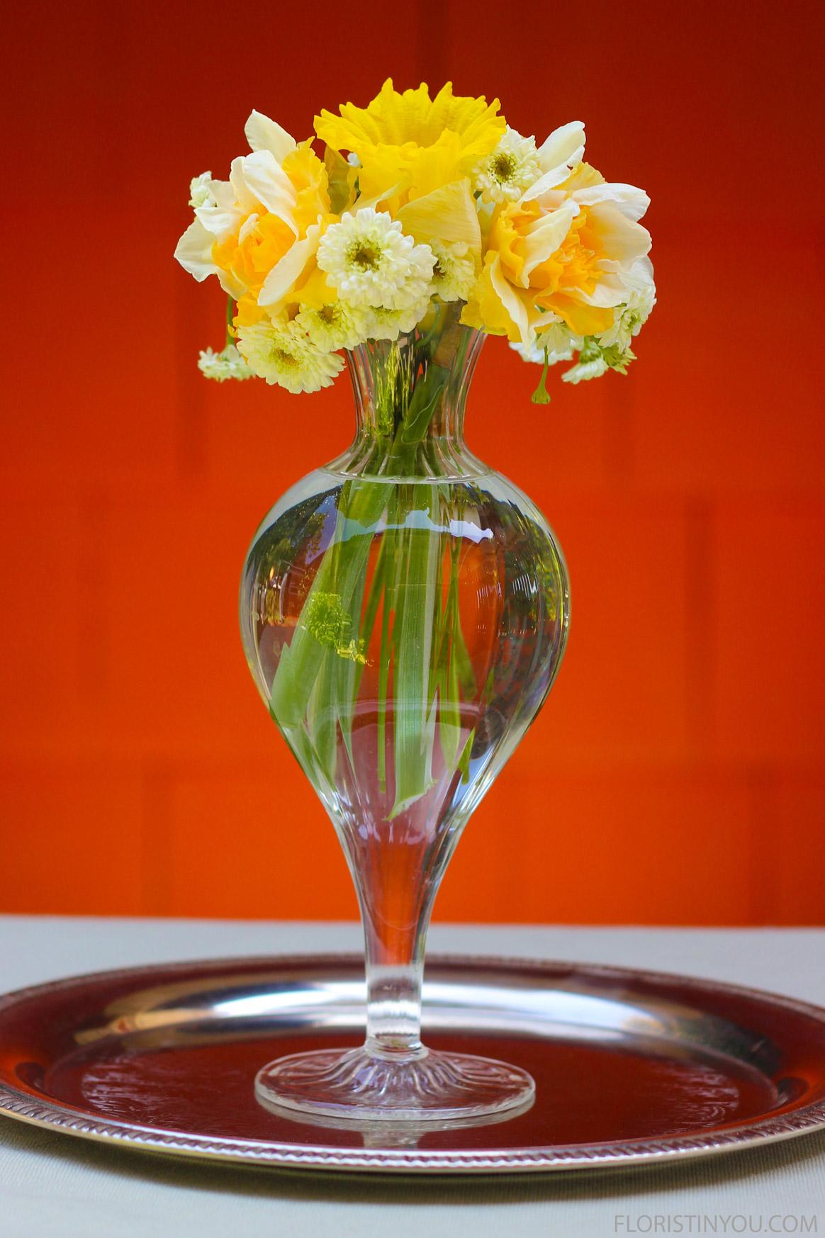 Showy Daffodils & Chamomile