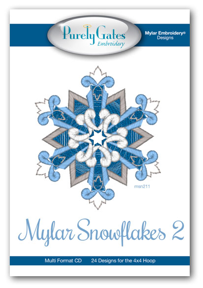 Mylar Snowflakes 2
