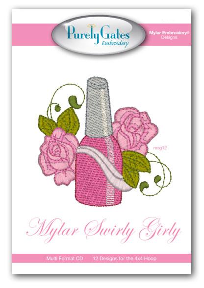 Mylar Swirly Girly