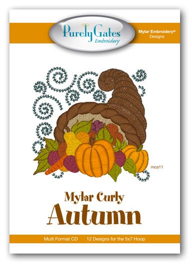 Mylar Curly Autumn