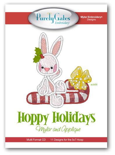 Hoppy Holidays Mylar and Applique