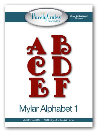 Mylar Alphabet 1