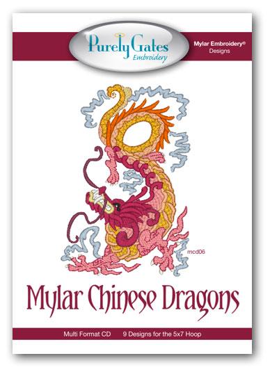 Mylar Chinese Dragons