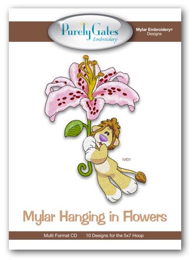 Mylar Hanging in Flowers