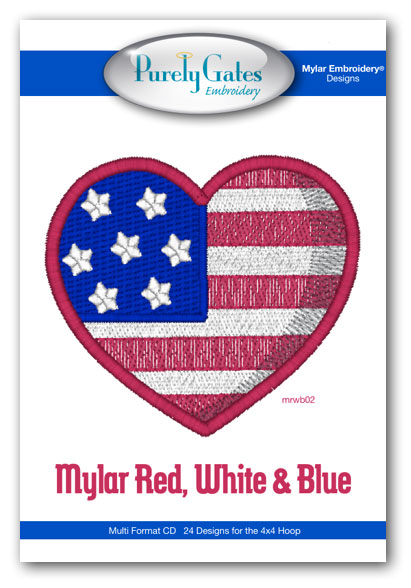 Mylar Red, White and Blue
