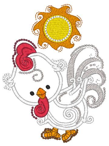 Chicken and Sun