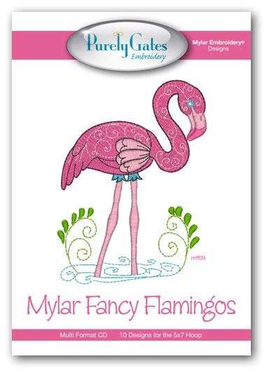 Mylar Fancy Flamingos