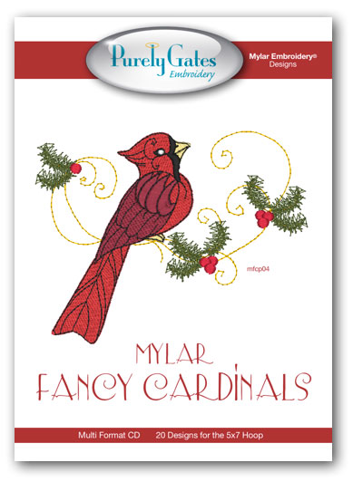Mylar Fancy Cardinals