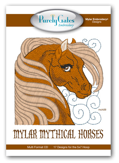 Mylar Mythical Horses