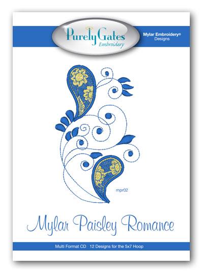 Mylar Paisley Romance