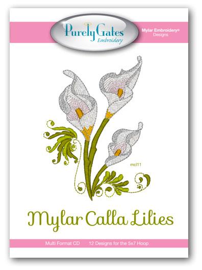 Mylar Calla Lilies
