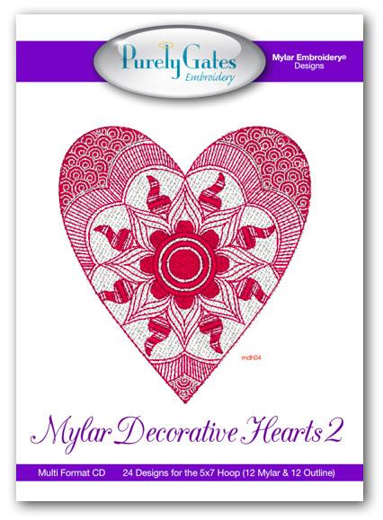 Mylar Decorative Hearts 2