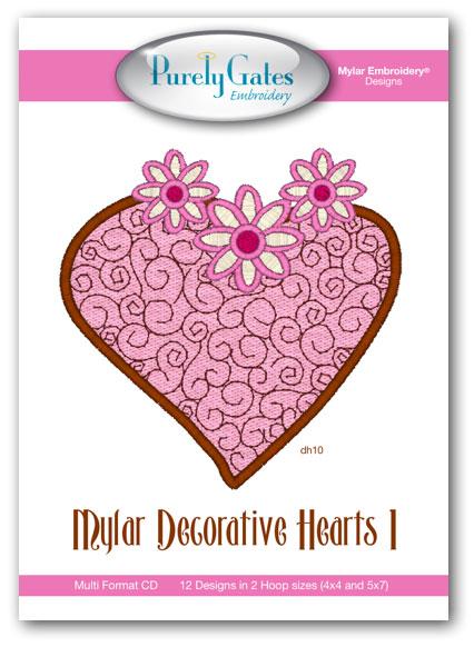 Mylar Decorative Hearts 1