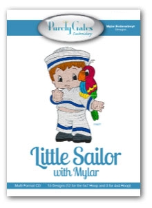 Little Sailor with Mylar