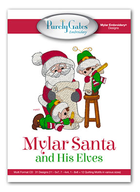 Mylar Santa and His Elves