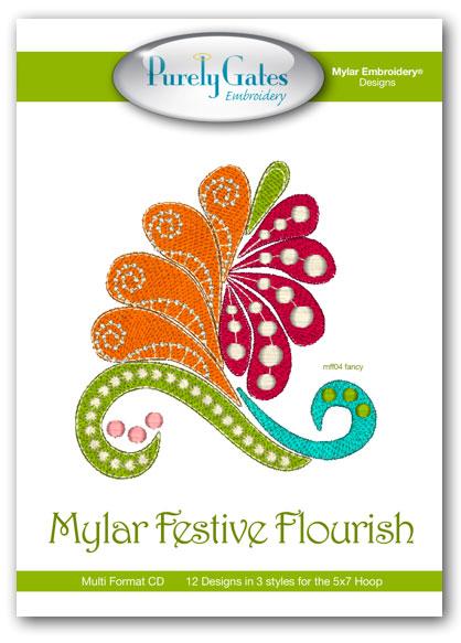 Mylar Festive Flourish