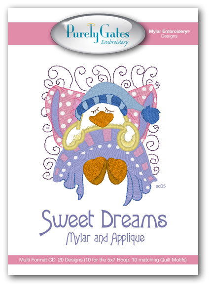 Sweet Dreams Mylar and Applique
