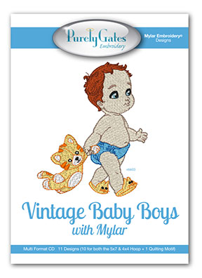 Vintage Baby Boys with Mylar