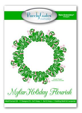 Mylar Holiday Flourish